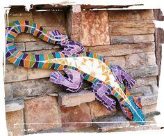 iguana 1;2;3 Mosaico!