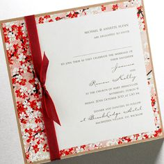 Or I could make the invitations myself! This is do-able, and still looks high-end.