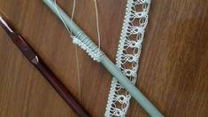 Kalemde Boncuk Oyası Modeli Needle Lace, Baby Knitting Patterns, Clothes Hanger, Crochet, Bracelets, Jewelry, Lace, Tatting Lace, Coat Hanger