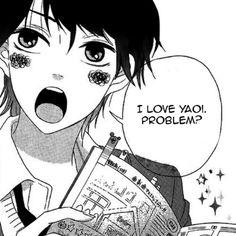 Can't help but fangirl at yaoi couples in manga and anime(≧∇≦) kya Comic Anime, Manga Anime, Anime Teen, Otaku Anime, Stupid Memes, Funny Memes, Lgbt Anime, Otaku Problems, Levi X Eren