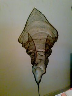 Wire Mesh Sculpture ¨Tuareg-II¨