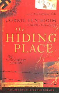 The Hiding Place by Corrie Ten Boom. Amazing story of forgiveness and faith
