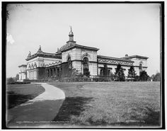 Memorial Hall in Philadelphia's Fairmount Park, c1900 (now the Please Touch Museum for kids)