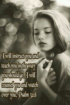 """Thou (O Lord) art my hiding place; thou (O Lord) shalt preserve me from trouble; thou (O Lord) shalt compass (surround) me about with songs of deliverance. Selah. ~ Jesus would say, """"I will instruct thee and teach thee in the way which thou shalt go: I will guide thee with mine eye. But be ye not as the horse, or as the mule, which have no understanding: whose mouth must be held in with bit and bridle, lest they (evil) come near unto thee. For many sorrows shall be to the wicked: but he that…"""