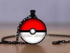 Pokeball Black Fashion Jewelry Pendant Necklace Top Quality | eBay
