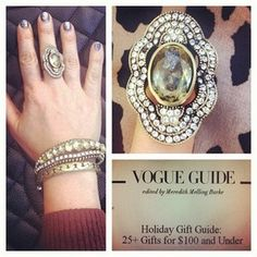 Got Vogue Magazine's seal of approval on Chloe + Isabel Pavé North South Ring! Do we have yours?     Shop this style >  https://www.chloeandisabel.com/boutique/elizabethshamooni    #chloeandisabel #ring #statement #cocktail #vintage #glam #sparkly #fashion #jewelry #beautiful #fashionista #style #instafashion #picoftheday #igdaily