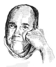 danny gregory - self-portrait