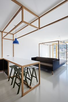 This guest apartment was designed for a cyclist. | MOCO LOCO