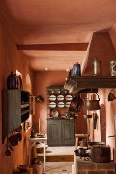 Blick in die Küche, Schillers Wohnhaus an der Esplanade