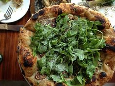 The pizza President Obama ate when he had lunch at Area Four in Cambridge. What is it? #areafour #cambridge #boston #obama