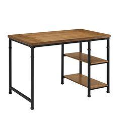 Linon Tara Desk - 2 Shelf