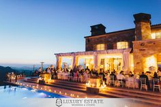 Malibu Rocky Oaks | Wedding Planning & Design by Luxury Estate Weddings & Events | luxuryestateweddings.com