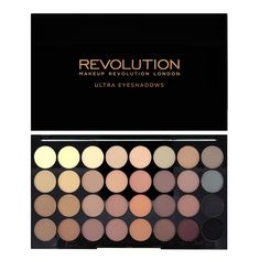 Ultra 32 Shade Eyeshadow Palette FLAWLESS MATTE - 32 Shade Palette - PALETTES