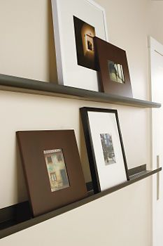Picture Rails in Natural Steel - Shelves & Ledges - Accessories - Room & Board