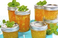 Meyer Lemon, Orange & Fresh Ginger Freezer Marmalade