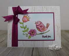 LW Designs: Stampin' Up! Host Set Feathery Friends