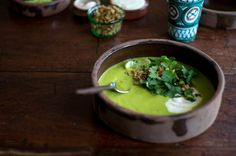 Sopa Verde de Elote - There is an wonderful Sopa Verde de Elote (green corn…