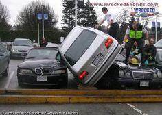 Comment se garer quand on a pas la place ?