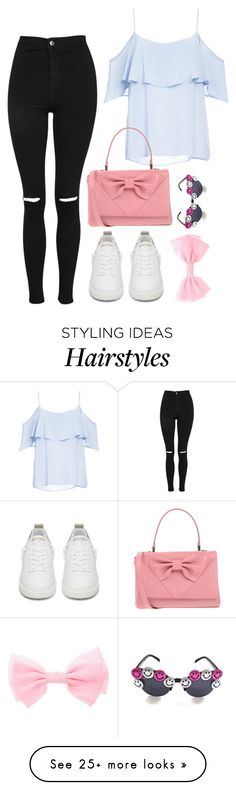 """""""tag set rtd"""" by altrisa-mulla on Polyvore featuring Topshop, Golden Goose, BB Dakota and RED Valentino"""