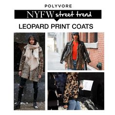"""""""NYFW Street Style Trend: Leopard Print"""" by polyvore-editorial ❤ liked on Polyvore featuring NYFW and pvnyfw"""