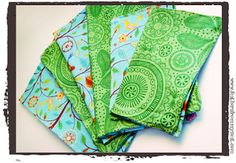 How to make cloth napkins! Excellent for fancy affairs and gifts without the terrifying price!