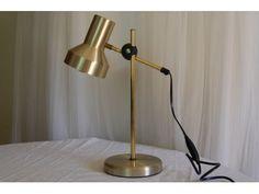 Retro lampe, antakeligvis fra Belid as, Sverige www.hellans.no