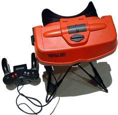 Virtual Boy da Nintendo 1995