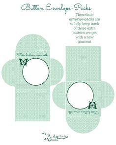 Button Envelopes