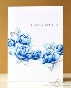 Blue Roses-#altenew