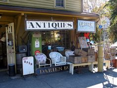 ~ Antiques Shop ~ This will work for the story board for my small town Ohio series!
