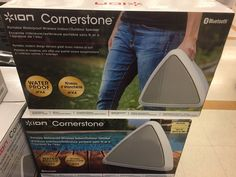 Ion Audio Cornerstone Portable Bluetooth Speakers.