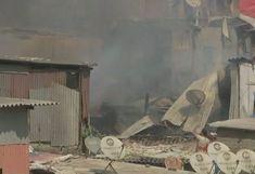 Mumbai: fire breaks out in Bandra slums; no casualties Mumbai Indians, Slums, Live News, Fire