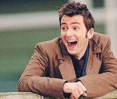 I think we all wore this expression when we learned who the Face of Boe really was!  Yep!