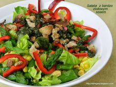 Stare Gary Sałata z bardzo ziołowym sosem