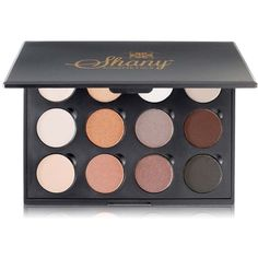 Shany 12-color 'Everyday Natural Look' Eye Shadow Palette (£10) ❤ liked on Polyvore featuring beauty products, makeup, eye makeup, eyeshadow, beauty, trucchi, beige, matte eye shadow, shimmer eye shadow and matte eyeshadow