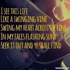 """""""i see this life like a swinging vine ~ swing my heart ..."""