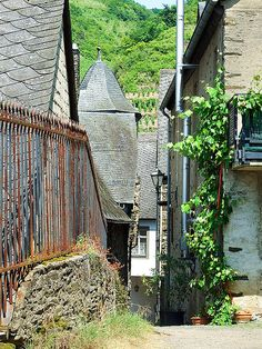 Beilstein on the Mosel. Germany