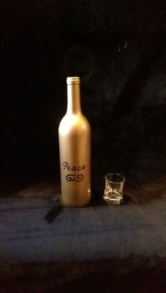 Check out this item in my Etsy shop https://www.etsy.com/listing/263150660/hand-painted-decorative-bottle-bar-decor