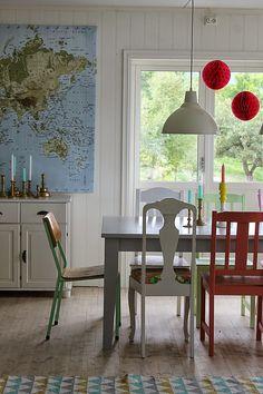 Huset ved fjorden: Hei frå stova