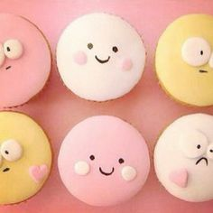 I think I would have a hard time eating the sad one...