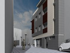 MARQ Building. Residential Sabadell. Barcelona (Spain) QIDStudio. Artur Fuster Architects