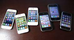 Daftar Harga Apple iPhone 3, 4, 5 dan 6 Maret 2015