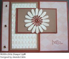 Copper Rust Bloom by acable - Cards and Paper Crafts at Splitcoaststampers