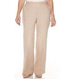 Alfred Dunner Womens Plus Pants Romancing Stone Polyester size NEW Pull On Pants, Women's Pants, Corduroy Pants, Best Work Pants, Tribal Print Sweater, Romancing The Stone, Plus Size Pants, Beige Sweater, Stretch Pants
