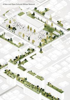 Galeria de Tirana 2030: Como a natureza e a cidade coexistirão na capital da Albânia - 12
