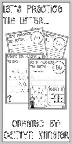 Students need help learning how to write letters of the alphabet?