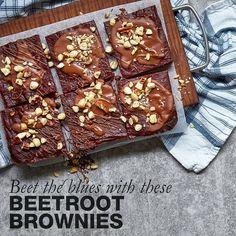 Beetroot brownies (recipe link in bio) Healthy Food Options, Healthy Recipes, Tip Of The Day, Recipe Link, Beetroot, Brownie Recipes, How To Better Yourself, Brownies, Good Food