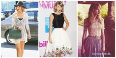 Taylor Swift's romantic style