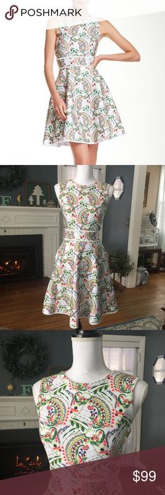 2fc4b50a04 Cynthia Rowley Floral Scuba Dress Worn only once! Originally Retailed for   395! Price firm