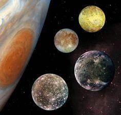jupiter's Galieoan satelites